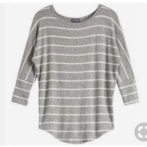 Market & Spruce Corinna Striped Dolman Top